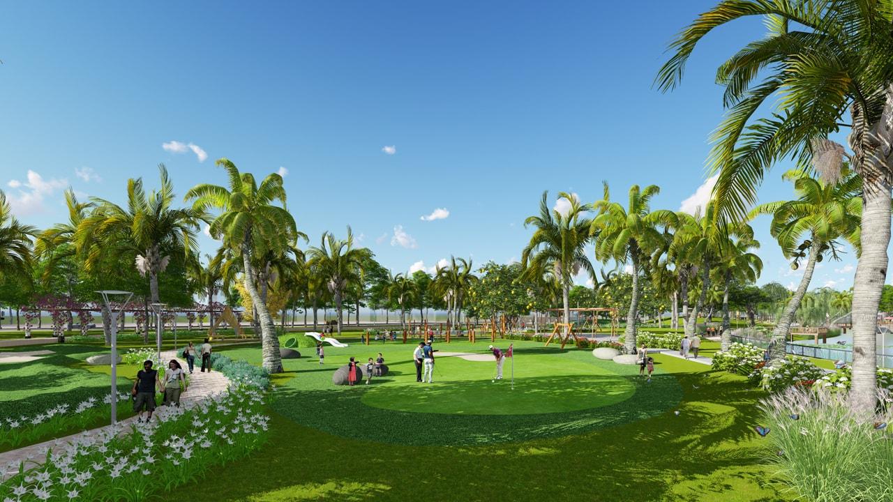 thiết kế cảnh quan công viên dương nội