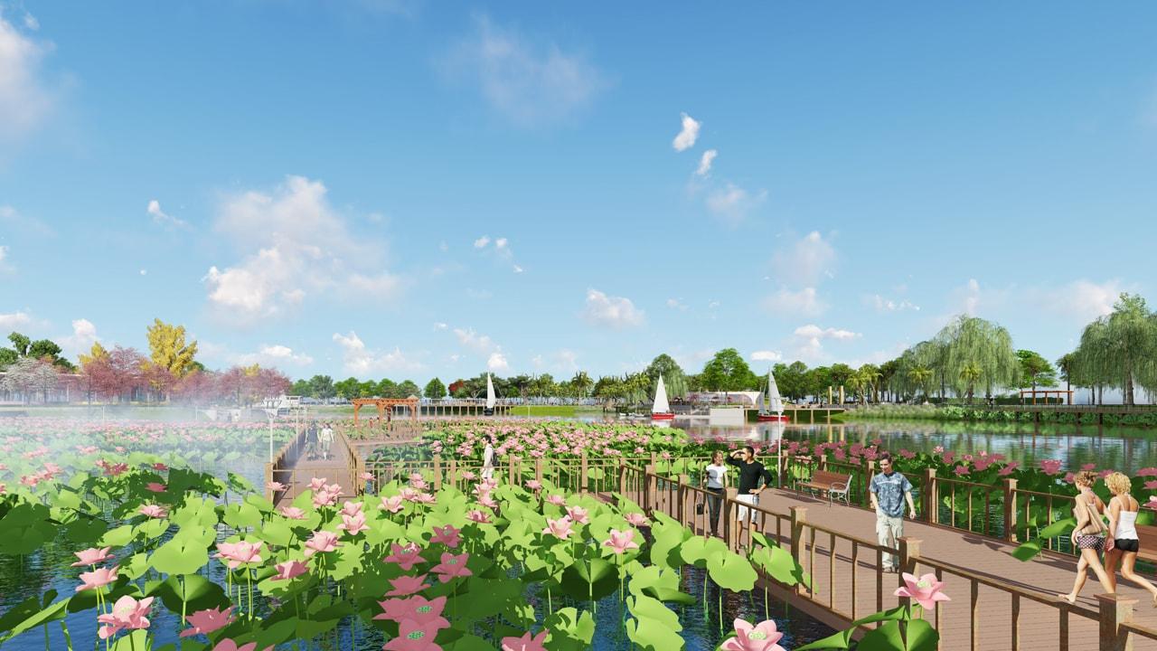 thiết kế cảnh quan công viên dương nôi img3