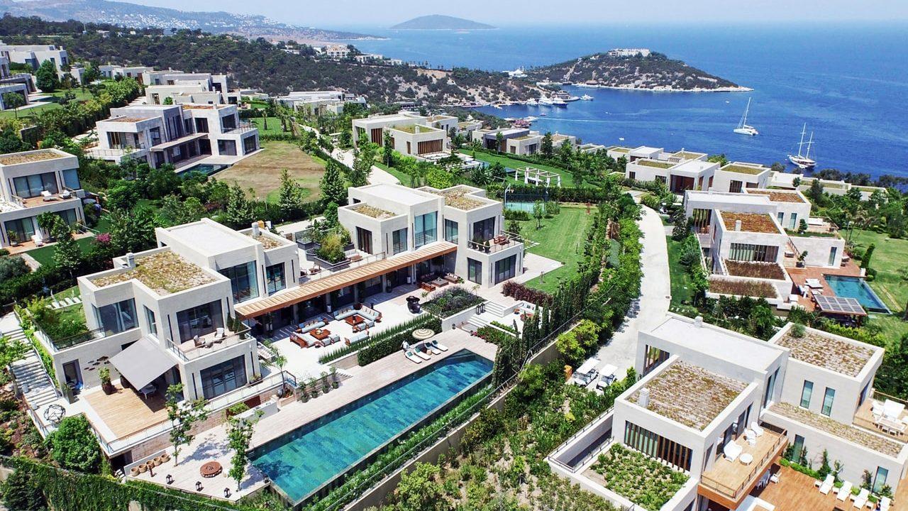 Thiết kế cảnh quan resort Mandarin Oriental Hotel and Residences Bodrum