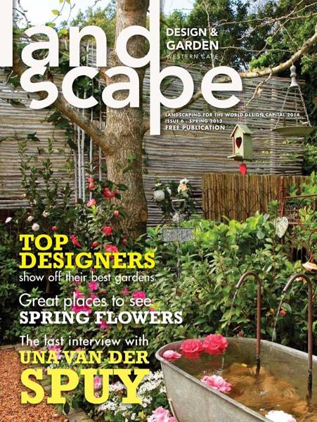 Landscape Design and Garden Magazine 2012 Spring