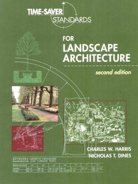 Time-saver Standard for Landscape Architecture / Hệ thống tiêu chuẩn kỹ thuật trong ngành kiến trúc cảnh quan