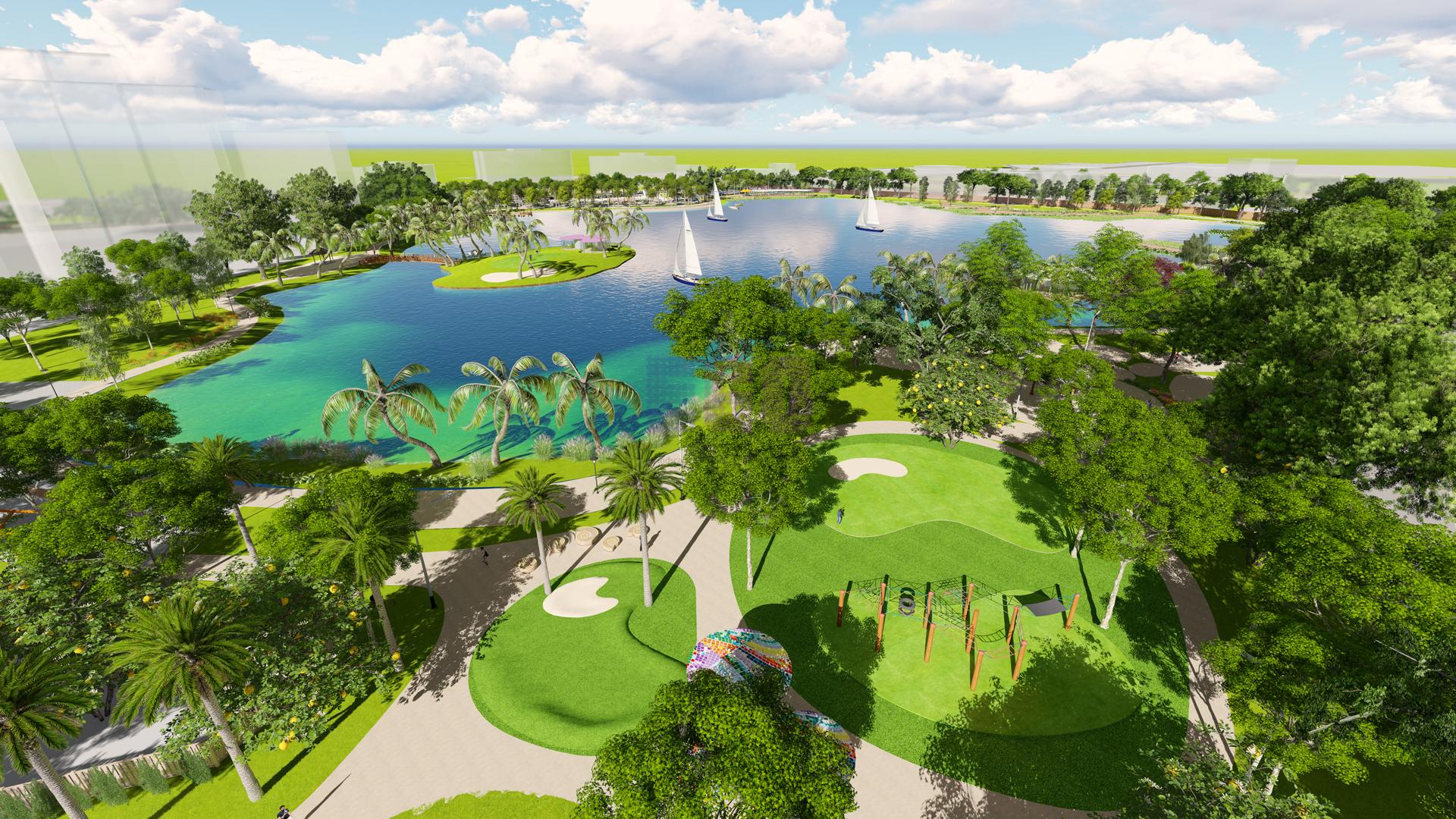 18 công viên được thiết kế mới ở nhiều khu vực nội thành Hà Nội