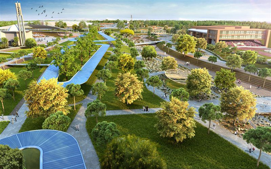 Dubai public green space