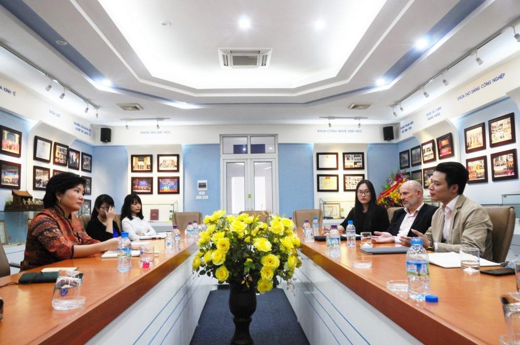 EGO Group – Viện Đại Học Mở Hà Nội hợp tác vì thế hệ tương lai