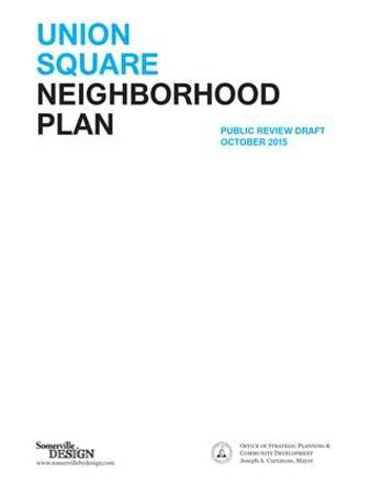 DRAFT Union Square Neighborhood Plan