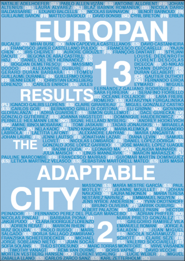 EUROPAN 13 RESULTS: THE ADAPTABLE CITY 2