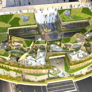 Thiết kế cảnh quan mang tới một ốc đảo tuyệt đẹp giữa lòng Paris