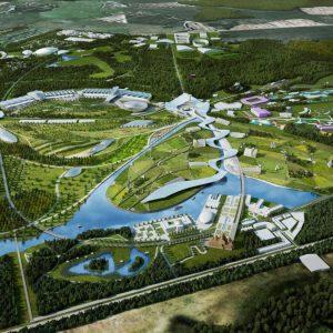 Thiết kế công viên lịch sử kết hợp khu nghỉ dưỡng độc đáo tại Nga