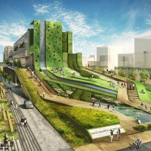 Seun City Walk – Thành phố đi bộ lấy cảm hứng từ dệt vải
