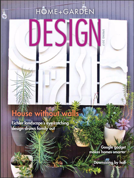Home + garden design – House without walls
