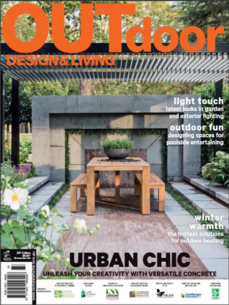 Outdoor design & living – Urban chic