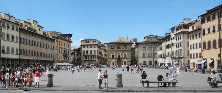 Quảng trường Santa-croce- Florence (Cơn khát cảnh quan tại Việt Nam)