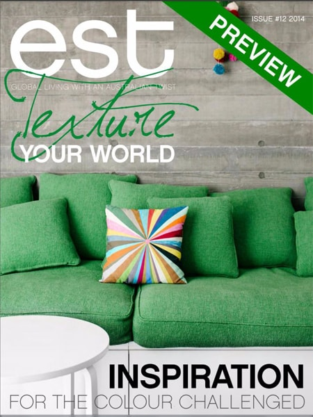 Est – Texture your world   Truyền càm hứng cho những thách thức về màu sắc