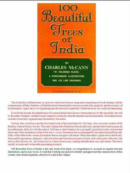 100 beautiful trees of india