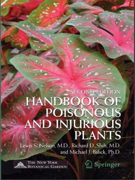 Handbook of poisonous and injurious plants / Sổ tay về các loài cây có độc