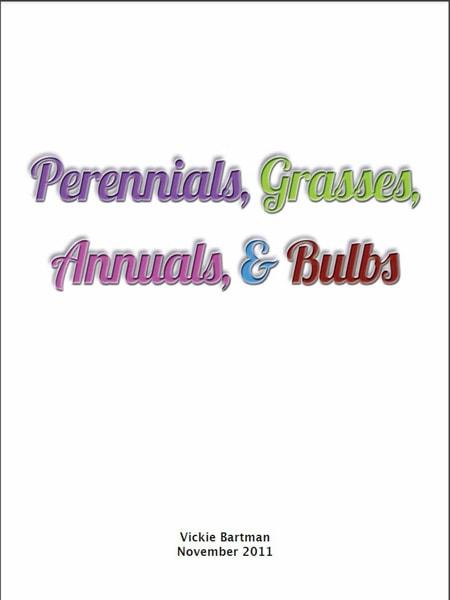 Perennials, grasses, annuals & bulbs - Cây xanh cảnh quan
