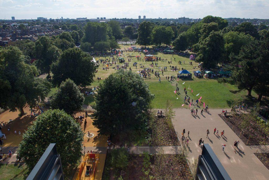 Cây xanh trong thiết kế cảnh quan công viên