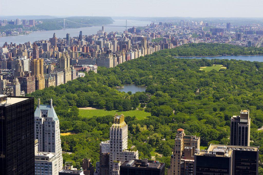 Sắc màu trong thiết kế cảnh quan - Central Park