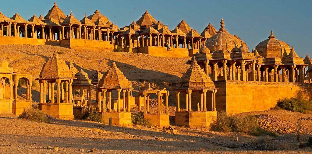 Sắc màu trong thiết kế cảnh quan - Jaisalmer