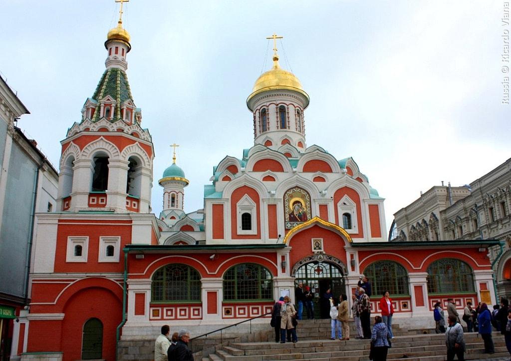 Sắc màu trong thiết kế cảnh quan - Nhà thờ Đức mẹ Kazan