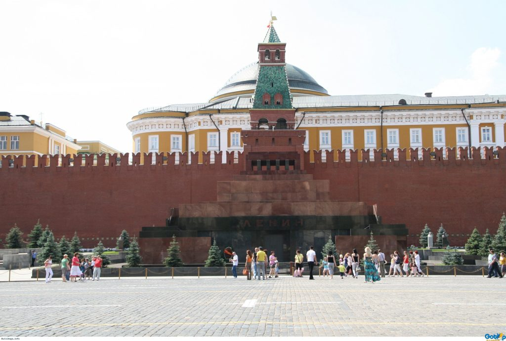 Lăng Lenin – Quảng trường Đỏ - Moskva