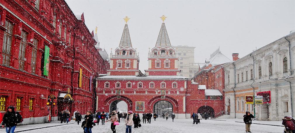 Sắc màu trong cảnh quan - Quảng trường Đỏ, Moskva