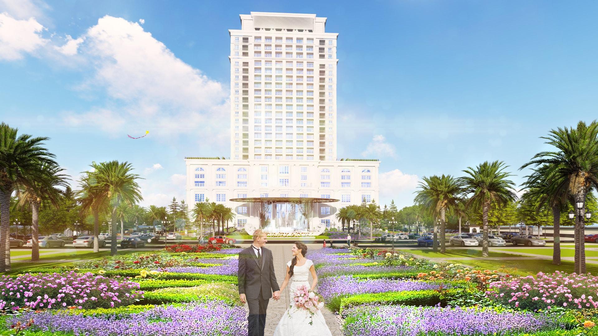 thiết kế cảnh quan khách sạn