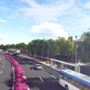 Nguyen Van Cu Streetscape Design