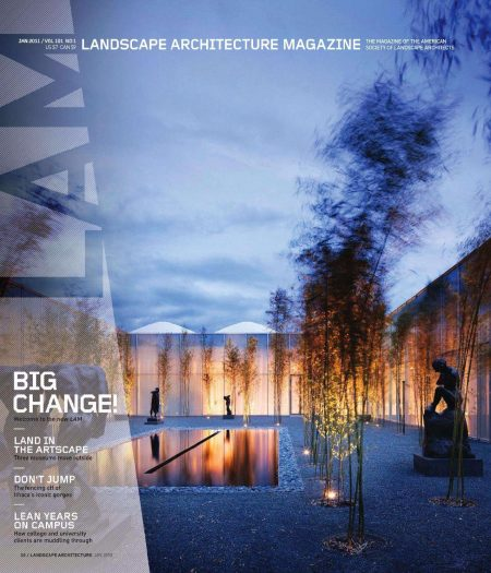 Landscape Architecture 01/2011