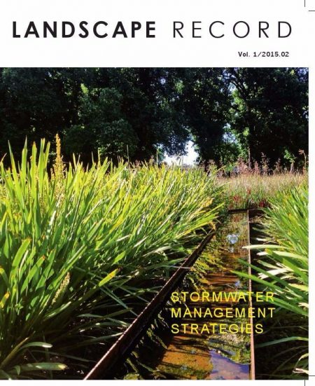 Landscape Record – Stormwater management strategies
