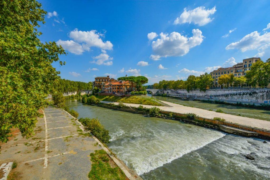 Sông Tiber - Rome, Ý - Dự án Hồi sinh sông Tô Lịch - egolandscape