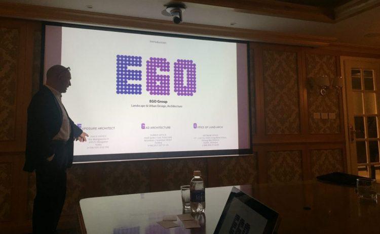 Buổi làm việc của chủ tịch EGO - Mr. Oliviero Godi và các cộng sự tại văn phòng Sun Group