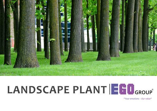EGO Landscape Plant 2018
