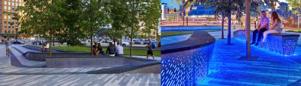 Thiết kế chiếu sáng cảnh quan dự án Finsbury Avenue Square 02