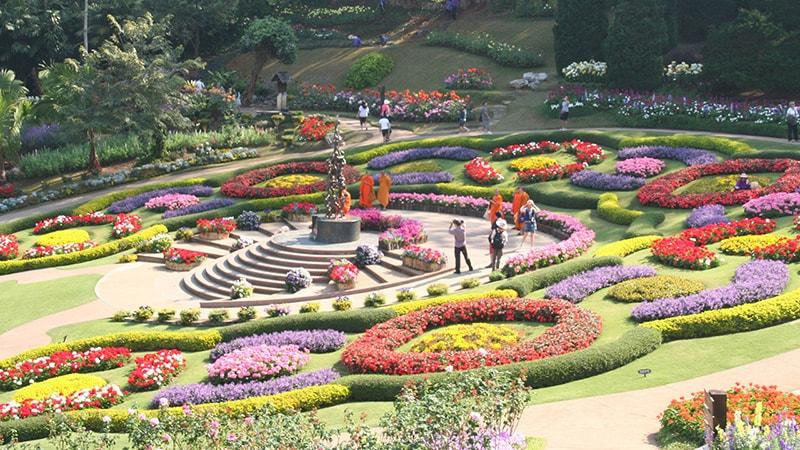 Chiang Rai Thailand Mae Fah Luang Garden / Khu vườn Chiang Rai Mae Fah Luang Garden ở Thái Lan