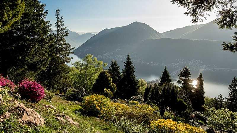 Parco San Grato – Carona TI – Switzerland / Vùng đất Parco San Grato – Carona TI – Thụy Sĩ