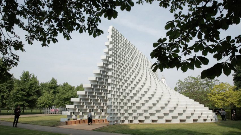 BIG and Fiberline reveal manufacturing process behind Bjarke Ingels' Serpentine Gallery Pavilion