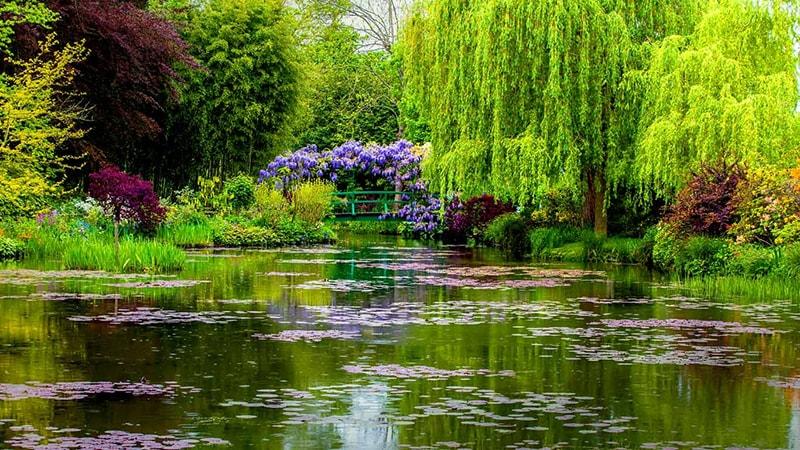 Claude Monet Garden Giverny France