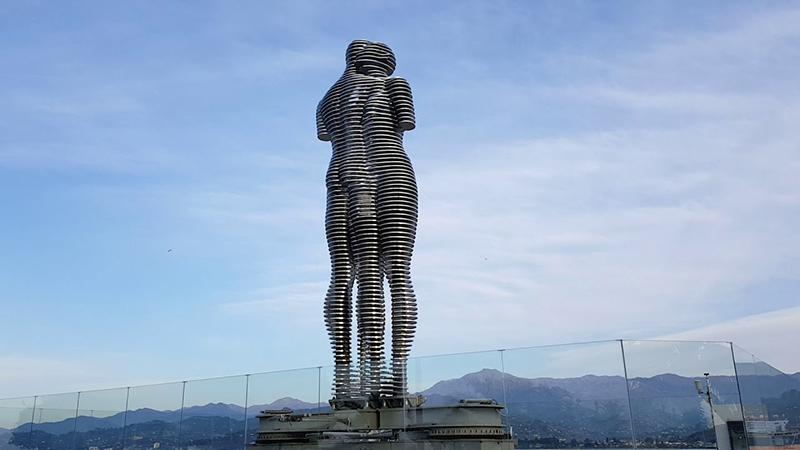 Kinetic Sculpture in Batumi, Georgia