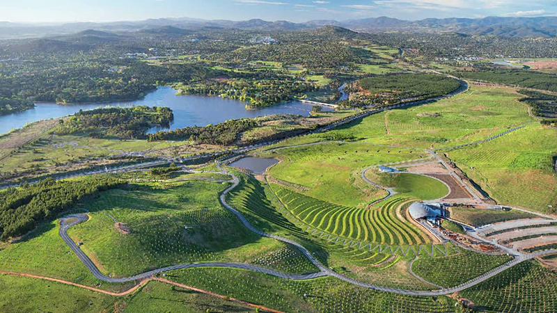 National Arboretum Canberra: World Landscape of the Year 2014