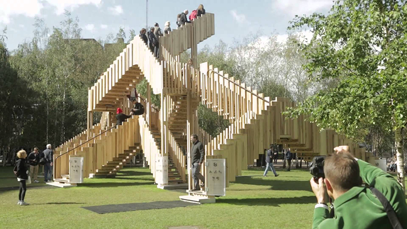 """""""Sculpture's gift to architecture is the staircase"""" – Alex de Rijke / Điêu khắc: Món quà của kiến trúc là cầu thang"""