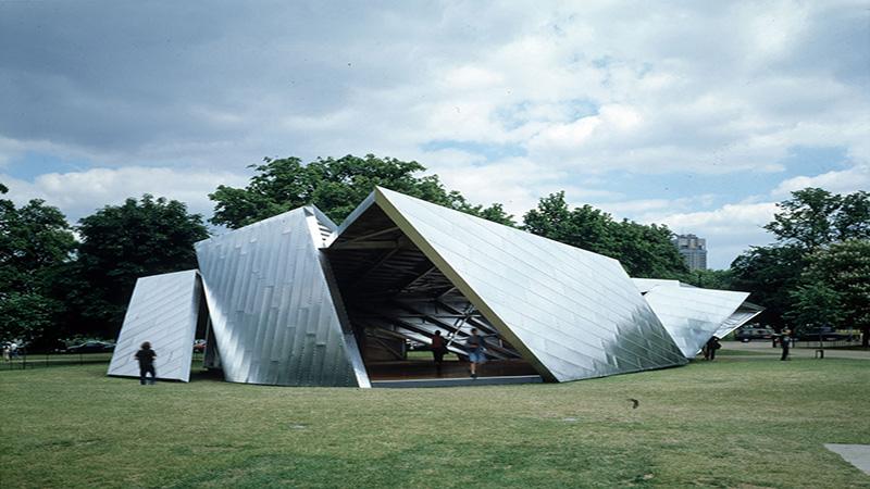 Serpentine Gallery Pavilion 2001 by Daniel Libeskind