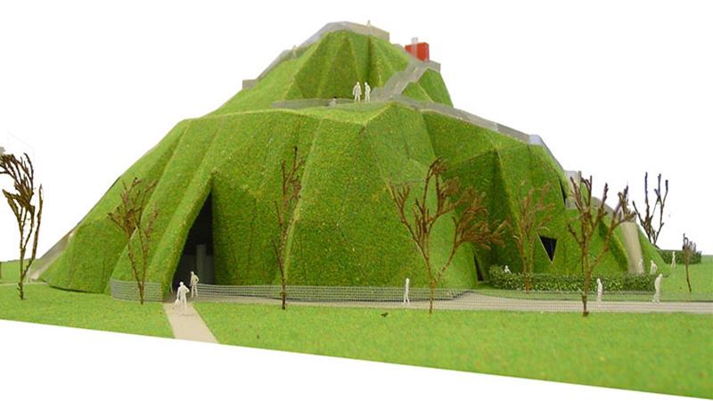 Serpentine Gallery Pavilion 2004 by MVRDV