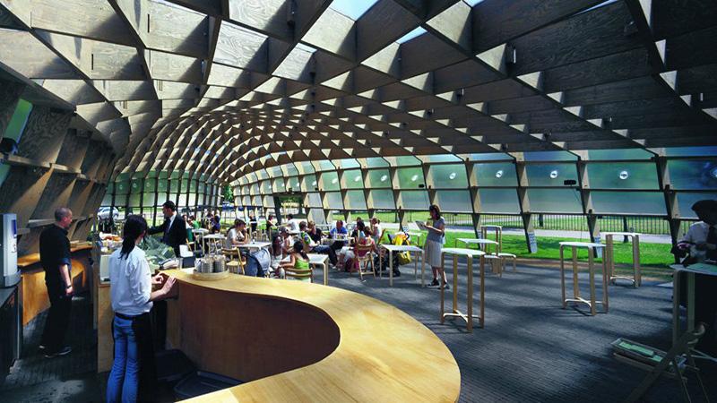 Serpentine Gallery Pavilion 2005 by Alvaro Siza and Eduardo Souto de Moura