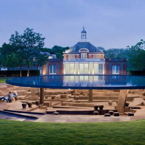 Serpentine Gallery Pavilion 2012 by Herzog and de Meuron and Ai Weiwei