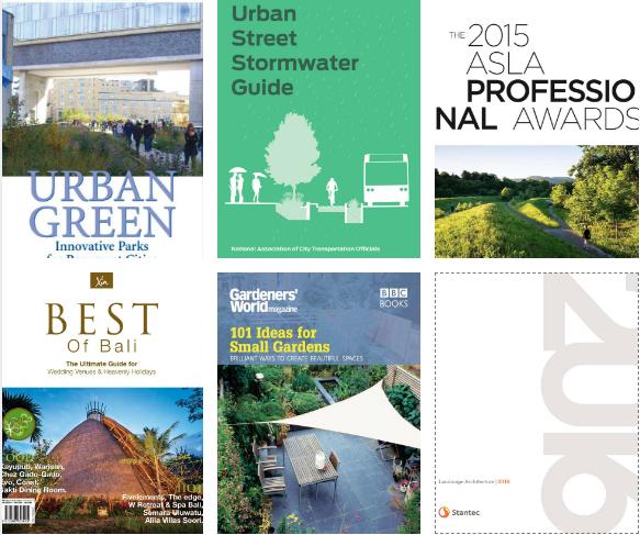 Top sách kiến trúc cảnh quan tháng 4.2018 - EGO