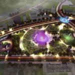 thiết kế cảnh quan công viên o2 park