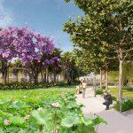 o2 park thiết kế cảnh quan công viên