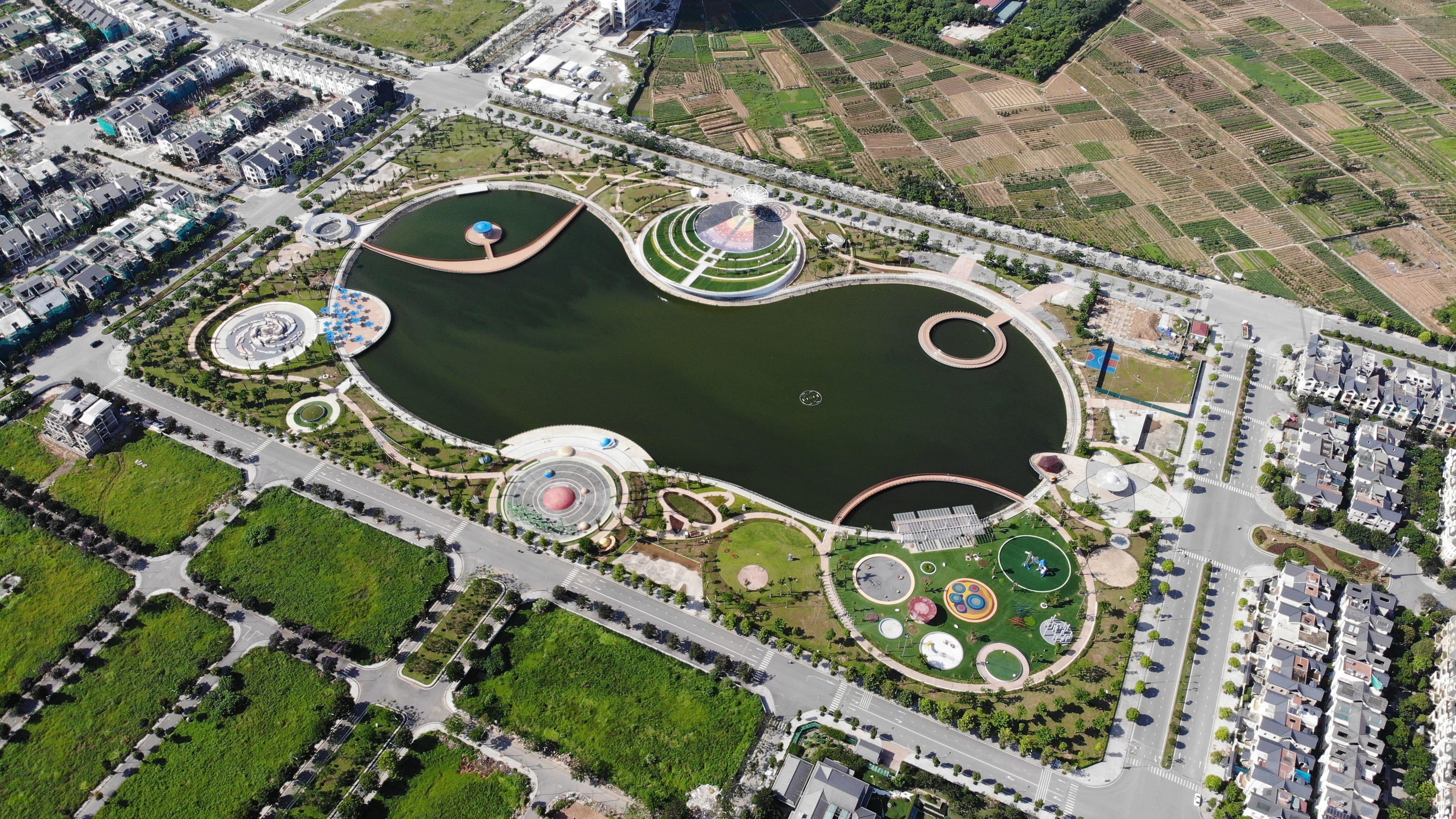 Tiến độ hoàn thành dự án Công viên Thiên văn học, thiết kế bởi EGO Group