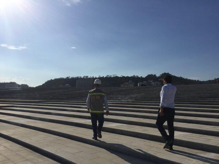 Khu vực khán đài - Quảng trường mặt trời Hạ Long